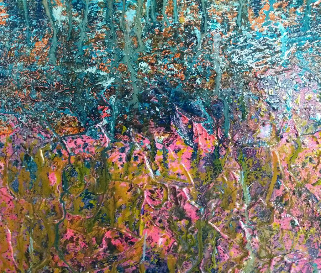 Detail wip painting