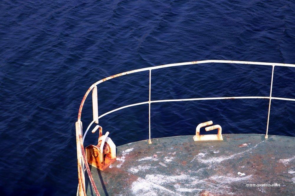 boat rail detail