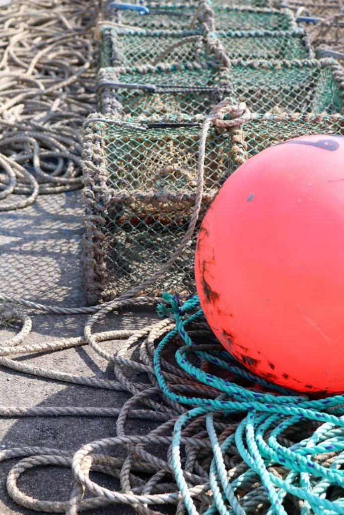 creel rope buoy uig pier
