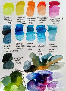 My favourite paint colours