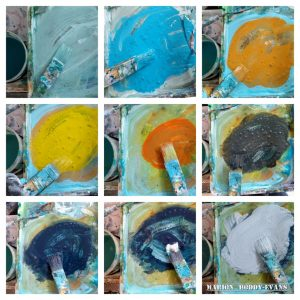 palette color mixing