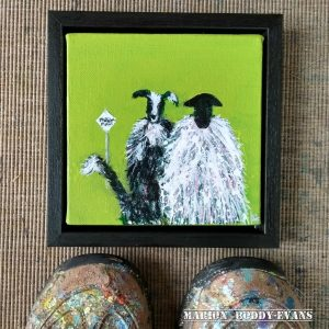 Sheep Painting: Passing Places II