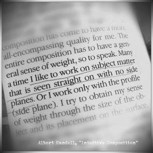 Motivational Quote Albert Handell
