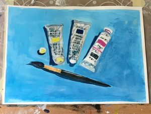 April painting project