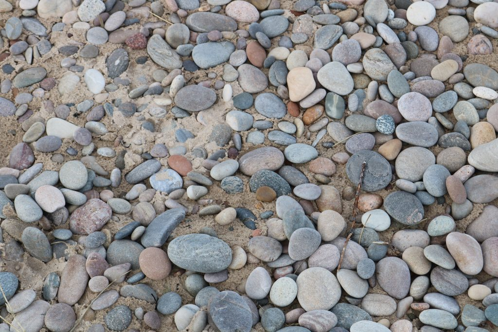 Pebbles at Findhorn Beach