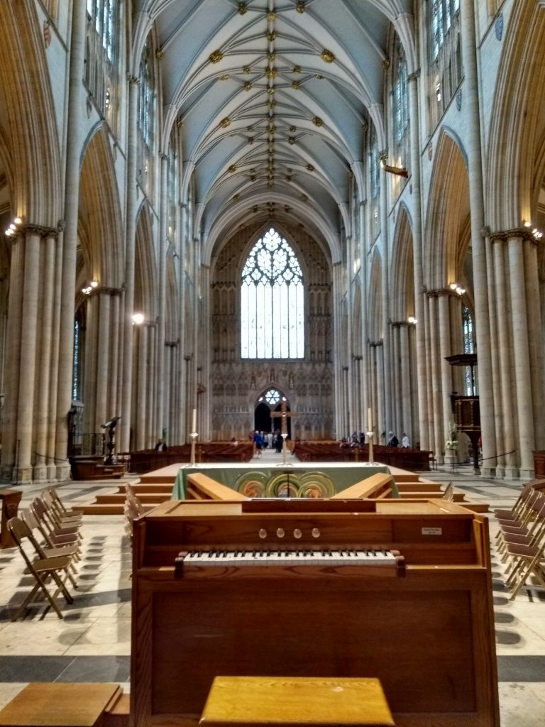 York Cathedral temporary organ