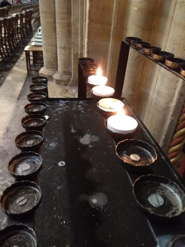 York Cathedral candles