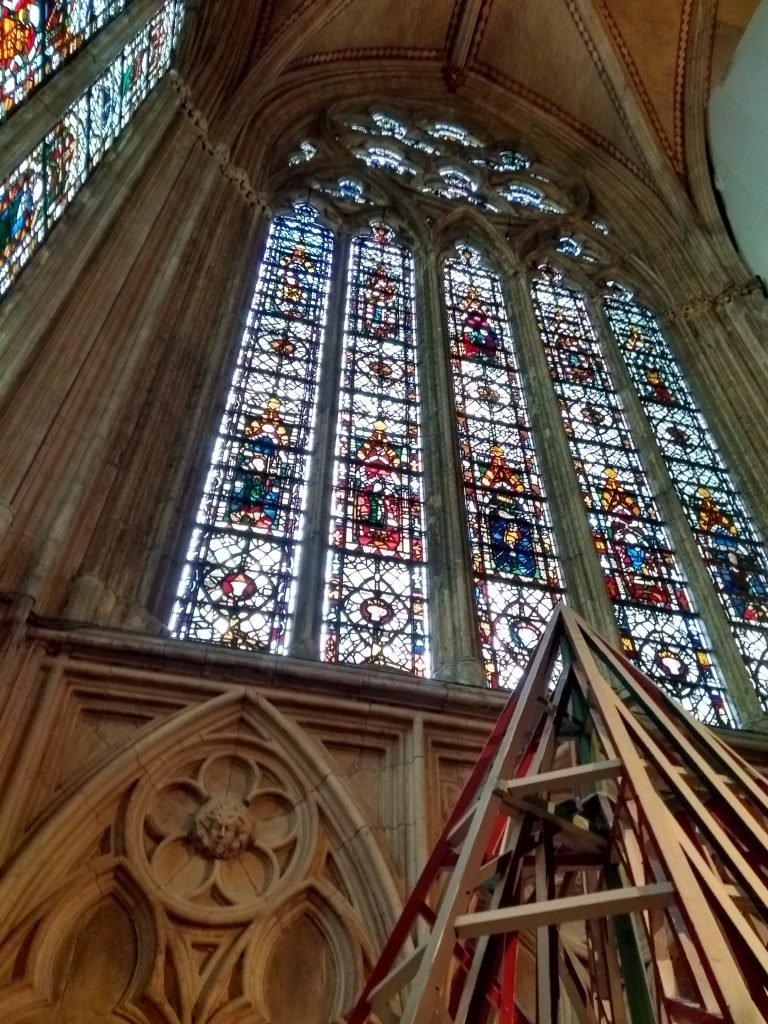 York Cathedral stained glass