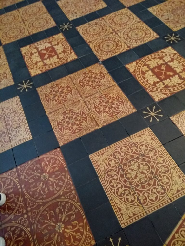 York Cathedral floor tiles