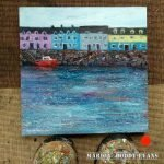 Portree harbour painting