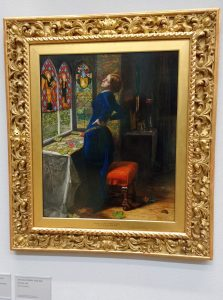Mariana painting by Millais