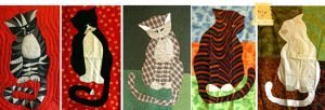 Marion's cat quilts